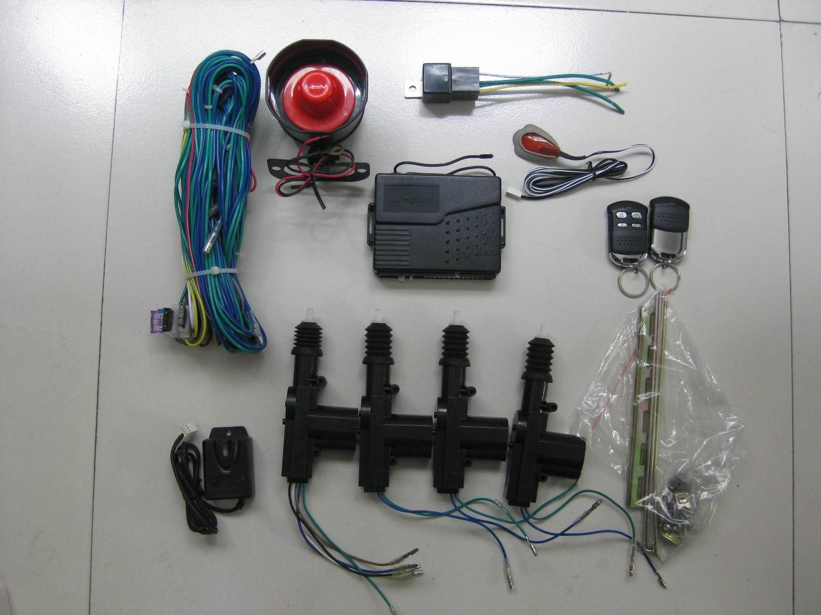 雄兵sk-1006防盗器接线图