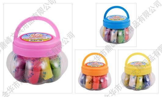 产品展示 点击查看大图 产品名称 10色南瓜瓶彩泥 所属类别 型 号