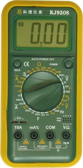 科捷kj9208万用表; 万用表,最便宜数字万用表_9205b数字万用表