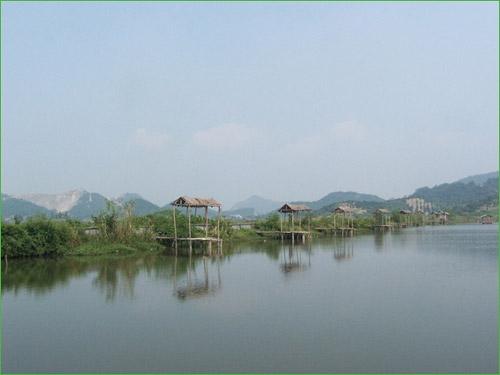 宁波东钱湖旅游度假区双虹阁农家乐园