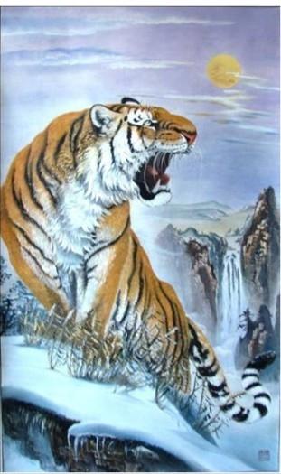上山虎纹身图案,纹身图案大全上山虎,后背上山虎纹身图案(第10页)_点