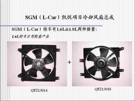 上海日用-友捷汽车散热器风扇