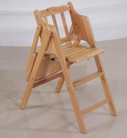 木制宝宝餐椅图片