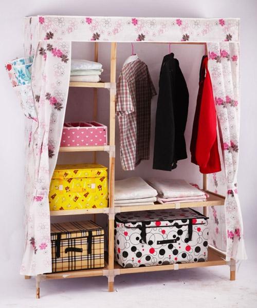 实木布衣柜