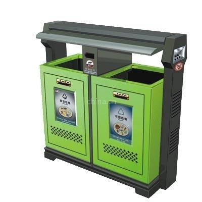 供应垃圾桶果皮箱钣金桶环卫垃圾桶11150上海奥图