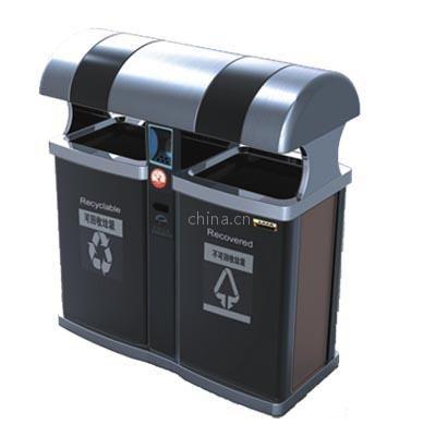 供应奥图垃圾桶钣金桶果皮箱环卫垃圾桶环保桶11154