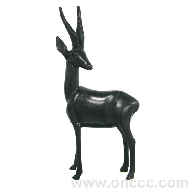非洲黑木雕鹿