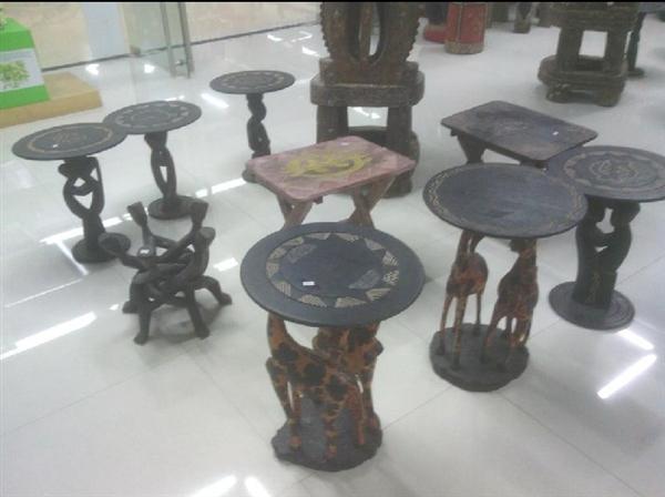 非洲手工艺品 小茶几 咖啡桌