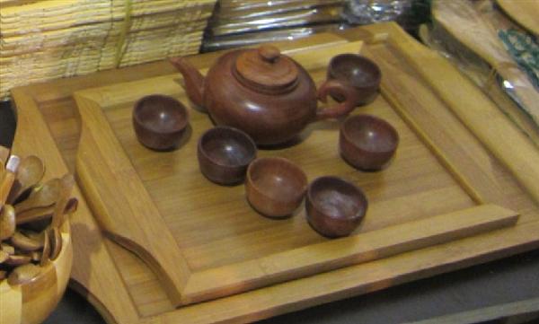 生产各种木制餐具