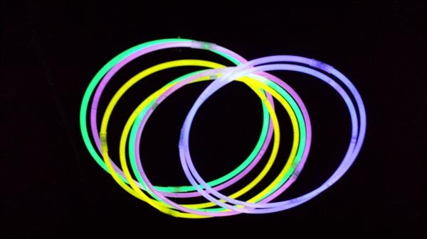 用荧光棒摆的好看图案设计