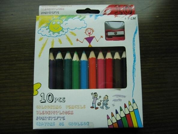 六年级夏天风景画彩笔