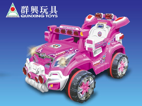 Guangdong Qunxing Toys Industrial Co Ltd In The The: motorized baby stroller